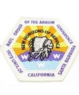 1973 Boy Scout National OA Conf NOAC Patch WWW Univ of California Santa ... - $12.37