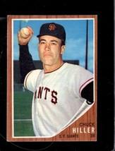 1962 Topps #188 Chuck Hiller Vgex Giants *XR22064 - $2.00