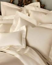 Sferra Matteo Tan King Sheet Set 4PC Solid 100% Cotton Sateen 300TC Beach Italy - $435.00