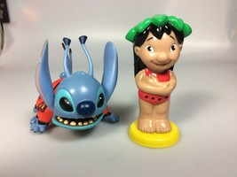 Disney Lilo Stitch toy Figures PVC cake topper - $18.32