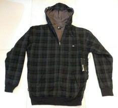 Fourstar Bourke Black Zip Front Hoodie Size Small BNWT - $49.99