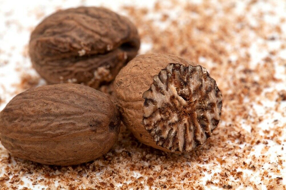 Primary image for Dried Whole Nutmeg Without Shell Spices Spices of the World