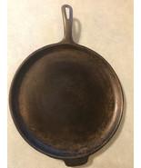 Vintage Wagner Ware 11 1/4 Inch Cast Iron Skillet Griddle  - $99.98