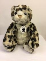 Build a Bear World Wildlife Fund Plush Leopard Cheetah Stuffed Animal WWF 2005  - $11.88