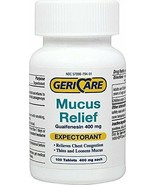 Gericare Mucus Relief-100 Tablets - $12.62