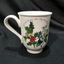 Portmeirion The Holly and The Ivy 10 oz Bell Beaker Mug - $23.36