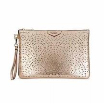 Victoria's Secret Laser Cut Beauty Pouch Bag - Rose Gold - NWT - $27.35