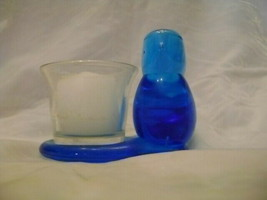 Blue Bird with Votive Candle Holder Ron Ray 1993 - $24.18