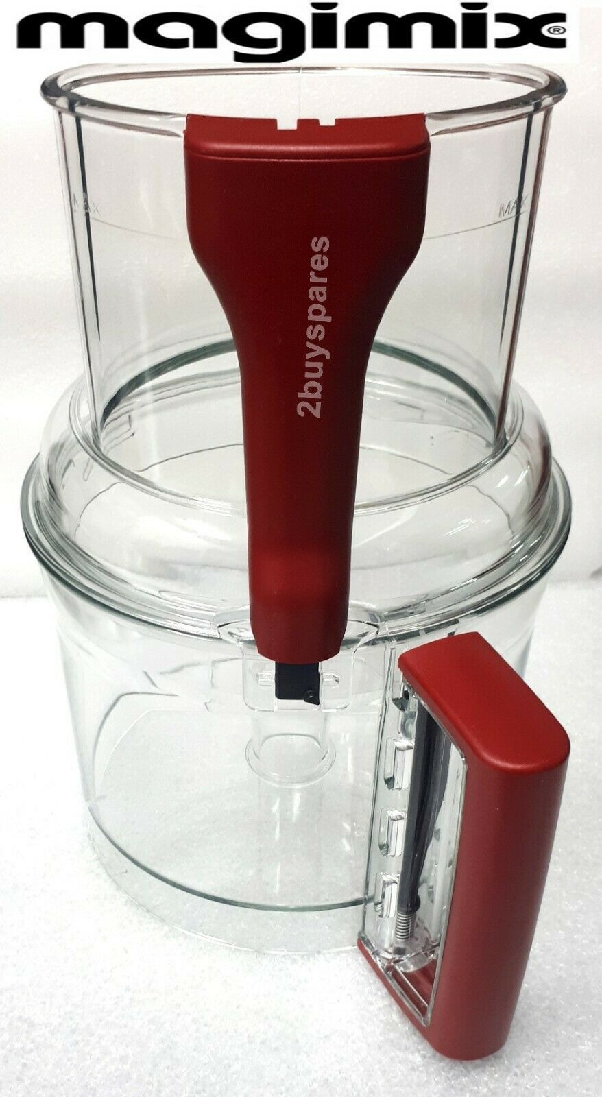 Primary image for Magimix XL Lid +Bowl Red Handle , 5200xl, 5150,6200