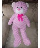 """Hug Fun 36"""" Pink Teddy Bear Plush Stuffed Animal Jumbo XL 258992 Ages 3+... - $44.55"""