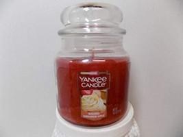 Yankee Candle Sugared Cinnamon Apple Medium Jar Candle, Fruit Scent - $19.79