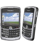 New Blackberry 8330 Curve 3G Silver (Verizon)(Page Plus) QWERTY Cellular... - $45.41