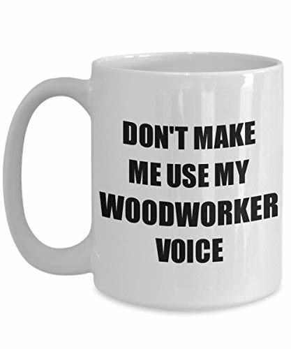 Primary image for Woodworker Mug Coworker Gift Idea Funny Gag for Job Coffee Tea Cup 15 oz