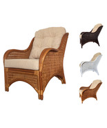 Rattan Armchair Karmen With Cushions - $202.49