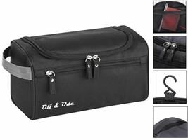 Toiletry Bag for Men Hanging Travel Rugged & Water Resistant Shower Bag ... - $12.27