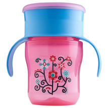 Philips Avent My First Big Kid Cup Pink/Blue 9m+ 360 degree BPA Free 9 oz  - $6.68