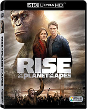 Rise Of The Planet Of The Apes [4K Ultra HD + Blu-ray]