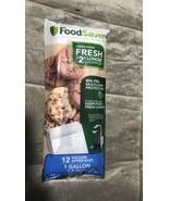 FoodSaver 1 Gallon Bag FoodSaver - 12 Count FSFRBZ0316-P00 - $33.99