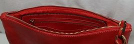 Handbag Republic Brand HG0024 Red Vegan Womens Purse With Large Tassel Detail image 6