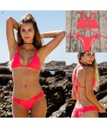 ITCQUALITY BIKINI SET SWIMWEAR WOMEN BRAZILIAN SWIMSUIT CROCHET PUSH UP ... - €32,00 EUR