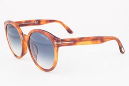 Tom Ford Philippa Blonde / Blue Gradient Sunglasses TF503-F 53W Asian Fit - $185.22