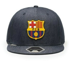 BARCELONA – PREMIUM HYDRA FLAT PEAK SNAPBACK (Fi COLLECTION) - $36.58