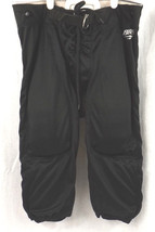 Bike Youth Football Pant & 7 Piece Pad Set Black Youth Large  - $15.00