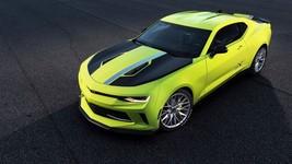 2017 Chevrolet Camaro Turbo Concept 24X36 inch poster, sports car - $18.99