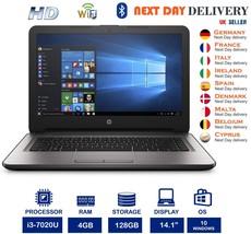 HP 14-ca000na 14-Inch Laptop Intel i3 7thGen 2.3Ghz 4GB RAM 128GB SSD A ... - $355.32