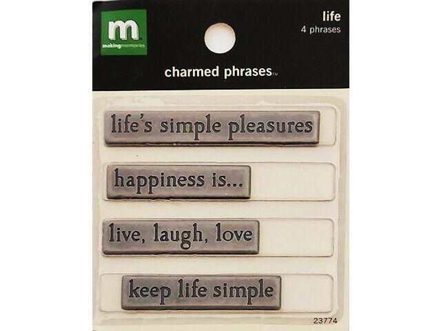 Making Memories Charmed Phrases, Life #23774