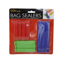 10 Pack of Bag Sealers Clips Fasteners Closers - $4.56