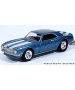 RARE! KEY CHAIN 68/69 1868/1969 BLUE WHITE CHEVY CAMARO Z28  NEW LIMITED... - $38.98