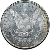 1885 MORGAN SILVER DOLLAR COIN Lot# A 503 image 2