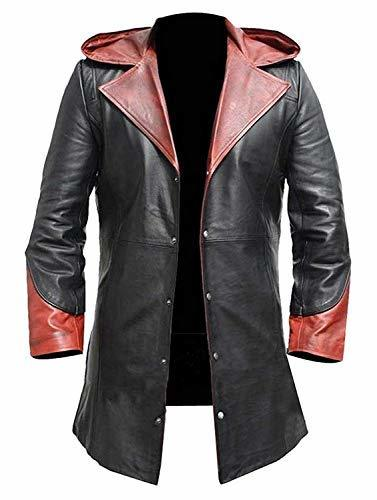 Dante DMC Devil May Cry 4 Coat Game Costume Leather Jacket