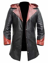 Dante DMC Devil May Cry 4 Coat Game Costume Leather Jacket image 1