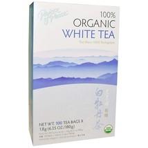 Prince of Peace, 100% Organic Premium Peony White Tea, 100 Bags, 2 g Eac... - $26.74