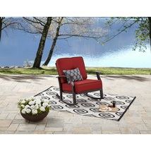 Outdoor Rocking Chair Cushion Seat Comfort Patio Porch Relaxing Function... - $163.79
