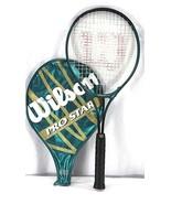 Wilson Pro Star Aerodynamic Wide Body Design Tennis Racket 4 1/2 - £27.05 GBP