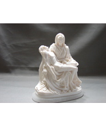 Pieta Figurine by  A Giannelli - Made in Italy w Marble Base 1966 - $24.99