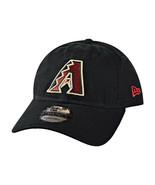 New Era Arizona Diamond Backs Core Classic 9Twenty Adjustable Cap Black 11417836 - $19.95