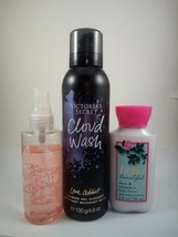 To travel size bath & body works full size Victoria secrets cloud wash M... - $9.89