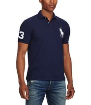 Polo Ralph Lauren Men's Short Sleeve Big Pony Logo Polo Shirt image 5