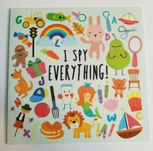 I SPY EVERYTHING! Book 18 puzzles for Preschoolers NEW - $9.99