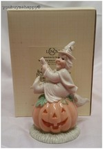 Lenox Halloween Witch's Jolly Pumpkin Figurine  New in Box - $34.60