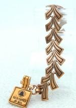 """VTG NOS OLD BELL TRADING CO. Copper Metal V Design Bracelet 7.5"""" - $49.50"""