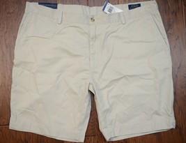 """Polo Ralph Lauren Uomo Basic Sabbia Cachi Chino 9 """" Cotone Classico Shorts W42 - $29.38"""