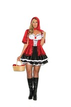 Storybook Red Riding Hood Costume - Plus - $25.95