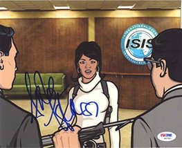 Aisha Tyler Archer 'Lana' Signed 8x10 Photo Certified Authentic PSA/DNA COA - $138.59