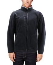 Men's Polar Fleece Full Zip-Up Collared Sweater Lightweight Warm Sweater Jacket image 2
