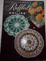 American Thread Co Star Doily Book No, 143 Ruffled Doilies - $4.99